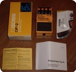Boss DS 2 Super Feedbacker And Distortion 1980 Yellow