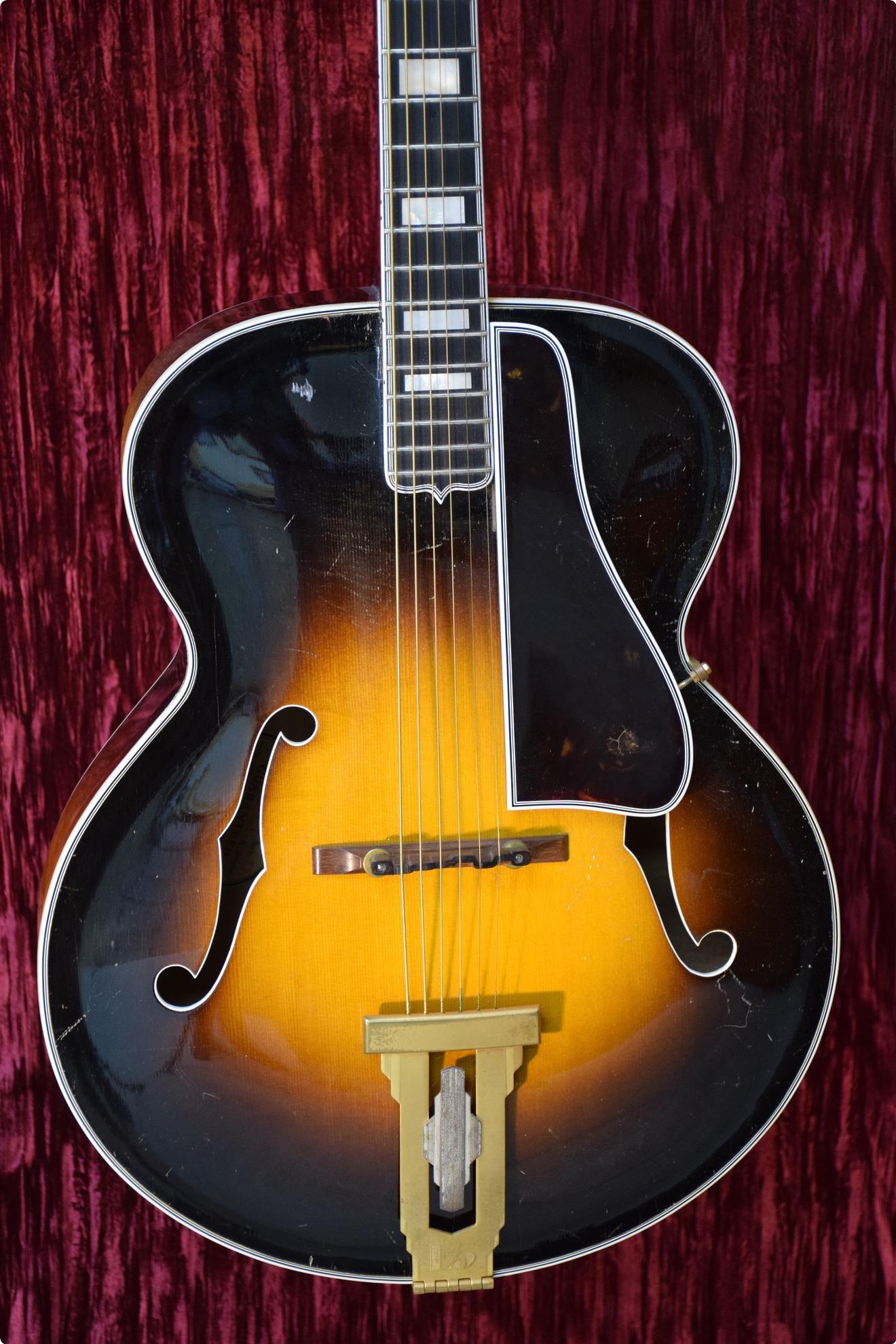 gibson l 5 1939 sunburst guitar for sale new yorker guitars llc. Black Bedroom Furniture Sets. Home Design Ideas