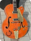 Gretsch 6120 Chet Atkins G Brand 1956 Orange