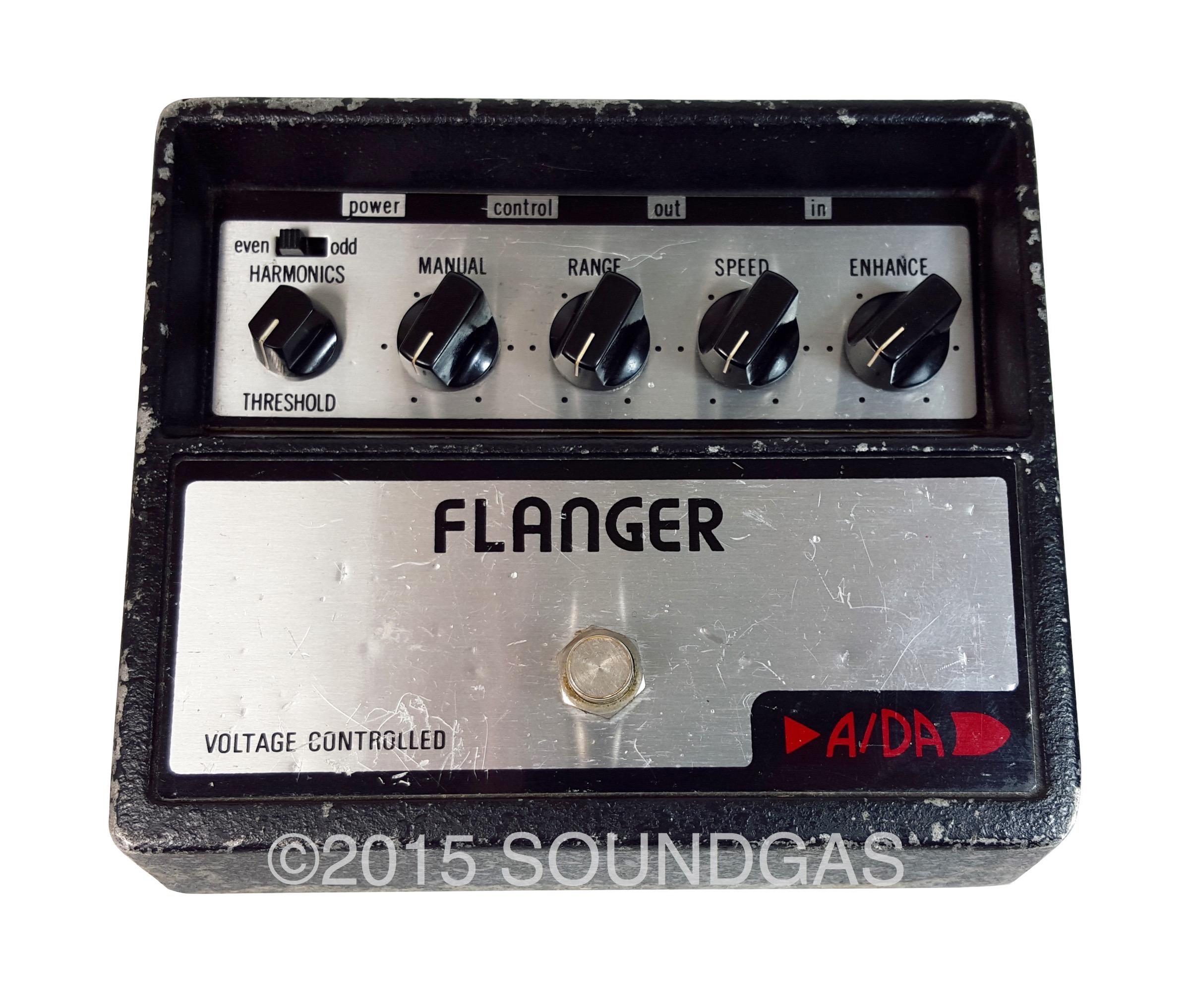 a da flanger 1970 39 s effect pedal for sale soundgas ltd. Black Bedroom Furniture Sets. Home Design Ideas