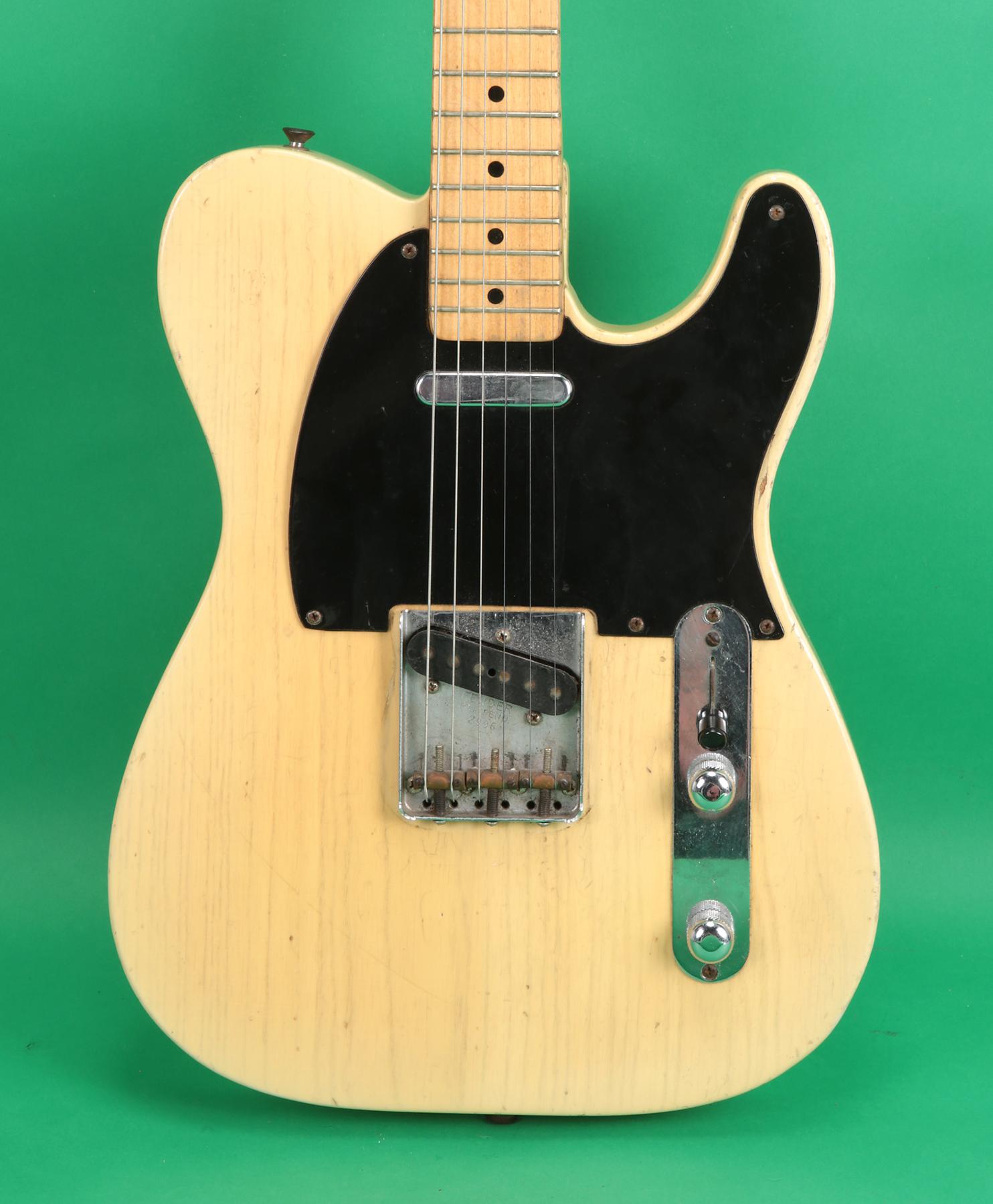 fender telecaster 1953 butterscotch guitar for sale jay rosen music. Black Bedroom Furniture Sets. Home Design Ideas