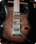 Music Man Luke BFR Walnut Quilt EMGs Steve Lukather Sound Custom Shop 2011 Walnut
