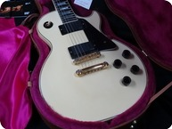 Gibson Les Paul Custom With EMGs Original PAFs Included Complete 2001 Alpine White