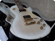 Gibson Gibson Les Paul Signature T Gold Series Flametop Classy Looks 2013 Alpine White