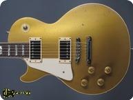 Gibson Les Paul Deluxe 1974 Goldtop Goldmetallic