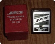 Jen TrebleBass Booster PE403 1967 Black Metal Box