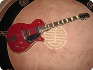 Gretsch Jet Firebird 1955 Red Top Black Sides And Back