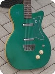 Danelectro U 2 In A Crazy Rare Green Custom Color 1957
