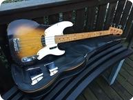Fender Precision Bass 1955 Two Tone Sunburst