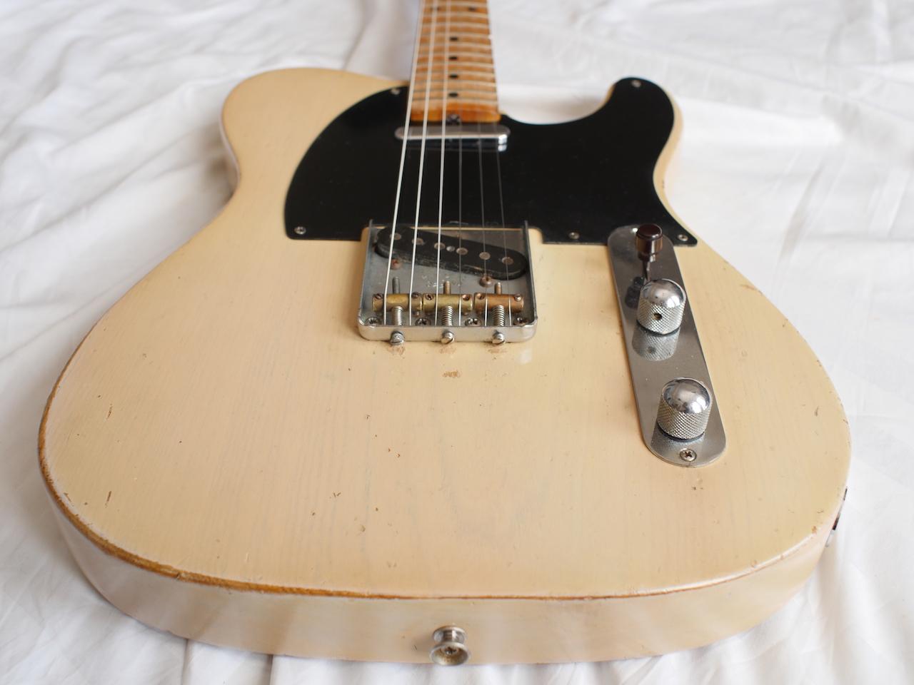 fender telecaster 1954 blonde guitar for sale atoyboy guitars. Black Bedroom Furniture Sets. Home Design Ideas