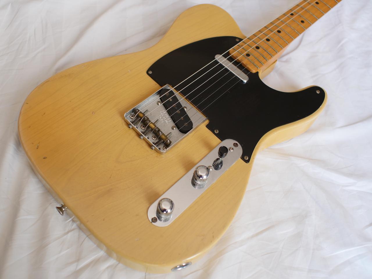 fender telecaster 1952 blonde guitar for sale atoyboy guitars. Black Bedroom Furniture Sets. Home Design Ideas