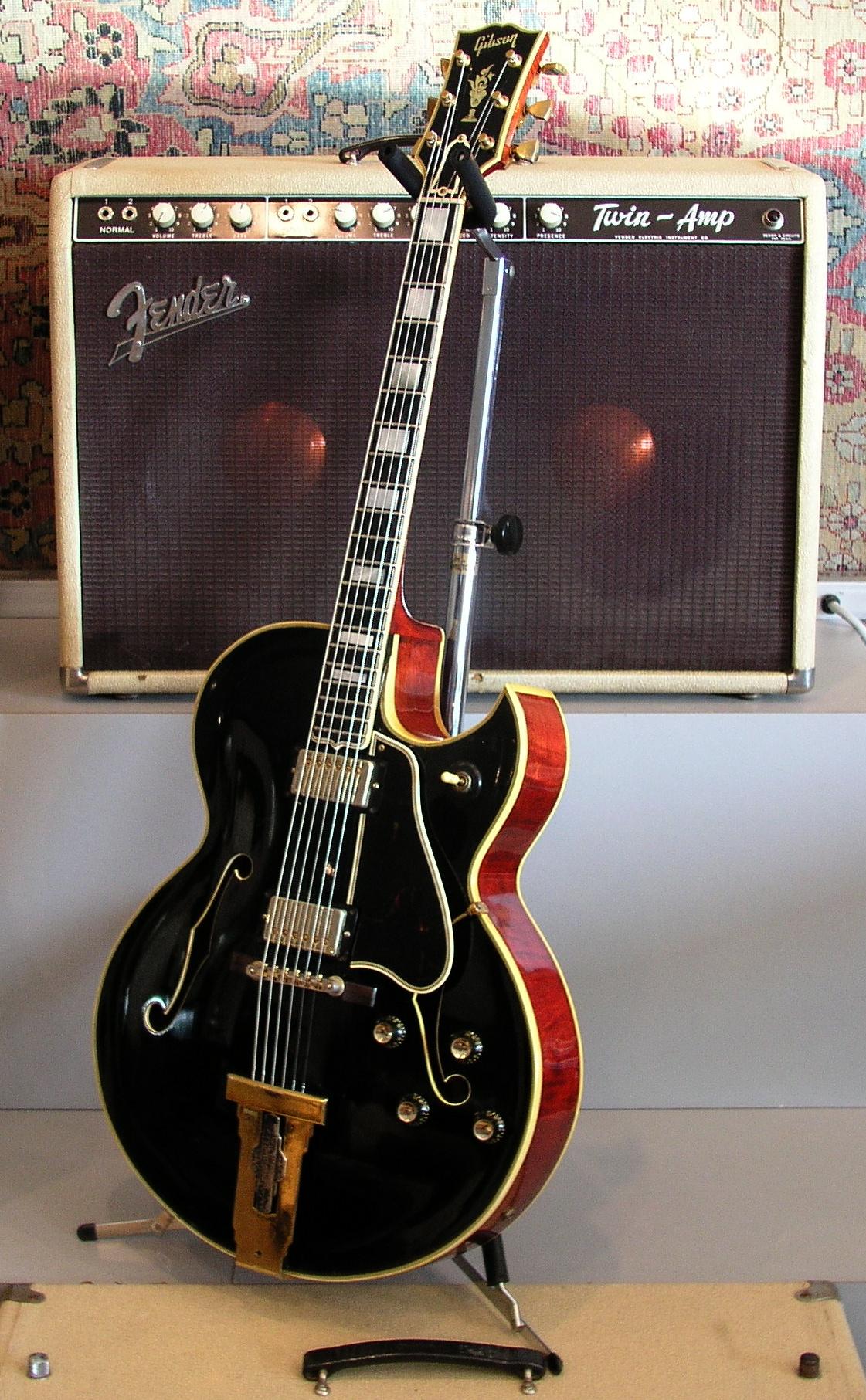 gibson l 5ces 1961 guitar for sale guitar exchange. Black Bedroom Furniture Sets. Home Design Ideas
