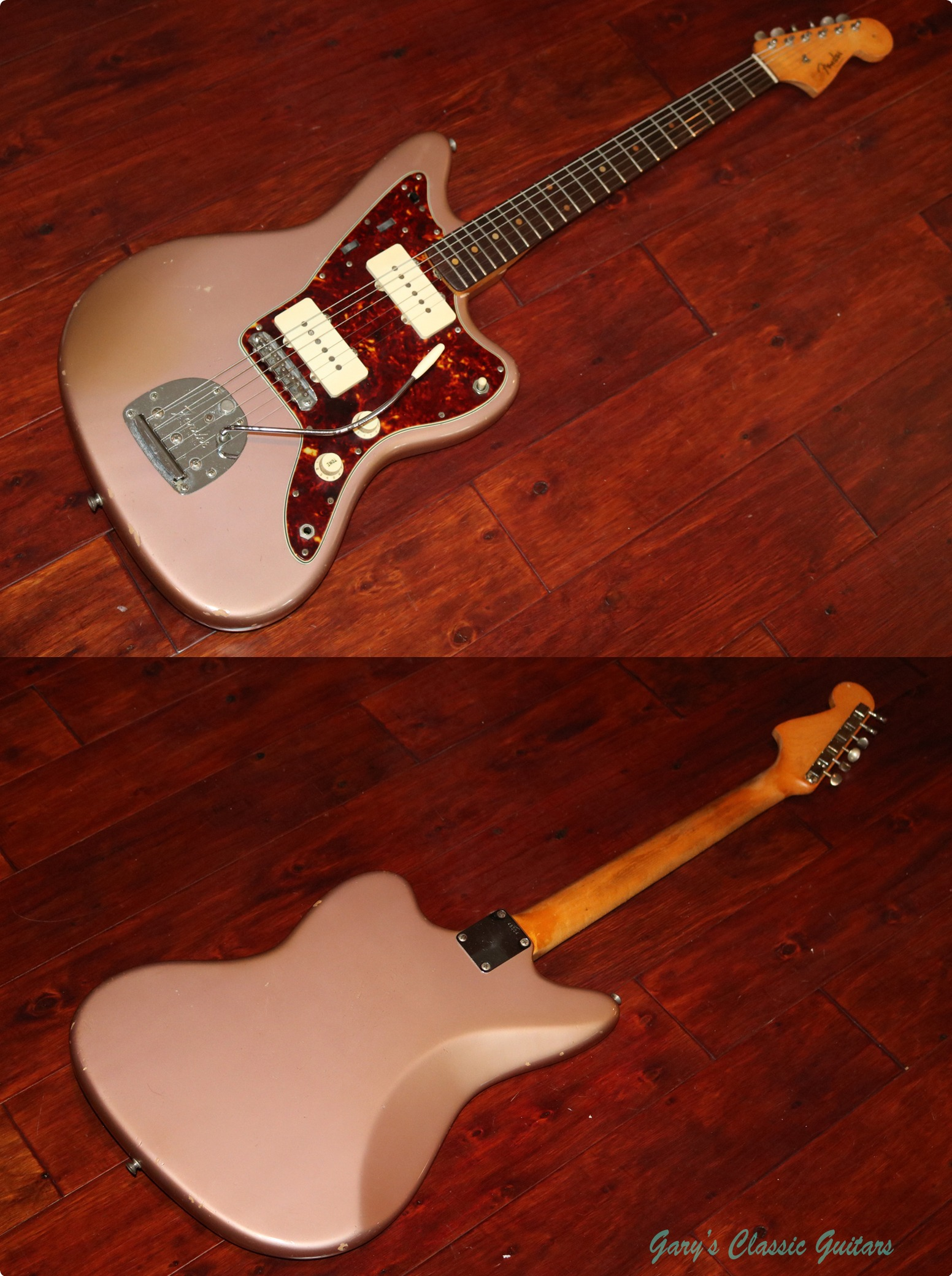 Fender Jazzmaster (#FEE0878) 1960 Burgundy Mist Guitar For ...