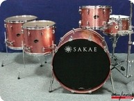 Sakae Almighty Maple Shellset Pink Champagne Sparkle 2016 Pink Champagne Sparkle