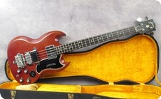 Gibson EB3 1962 Cherry Red
