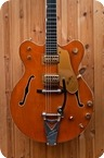 Gretsch 6120 Chet Atkins Hollowbody 1965 Sunset Orange