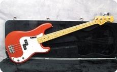Fender Precision 1981 Morocco Red