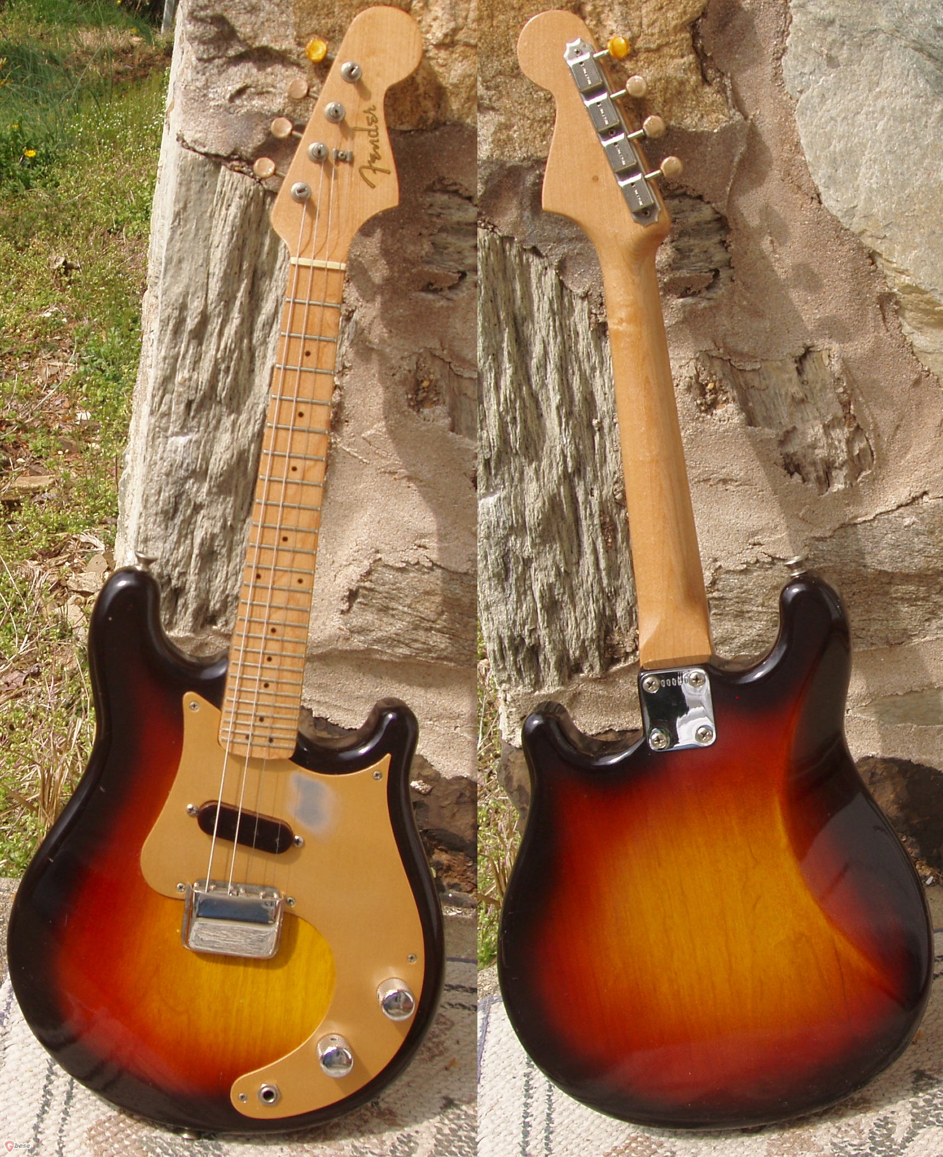 fender mandocaster 1957 sunburst stringed instrument for sale neal 39 s guitars. Black Bedroom Furniture Sets. Home Design Ideas