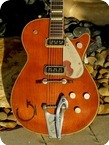 Gretsch 6121 Chet Atkins Solid Body 1955 Orange