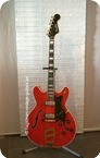 Hagstrom Viking De Luxe 1967 Red