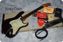 Fender Custom Shop Masterbuilt Stratocaster 2015 Black