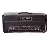Hiwatt Custom 400 Head 2016 Black