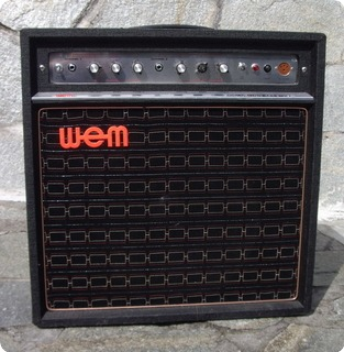 wem dominator mki bass 1970 black amp for sale hendrix guitars. Black Bedroom Furniture Sets. Home Design Ideas