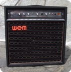 WEM Dominator MKI Bass 1970 Black