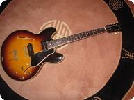 Gibson ES330TD 1961 Tobacco Sunburst