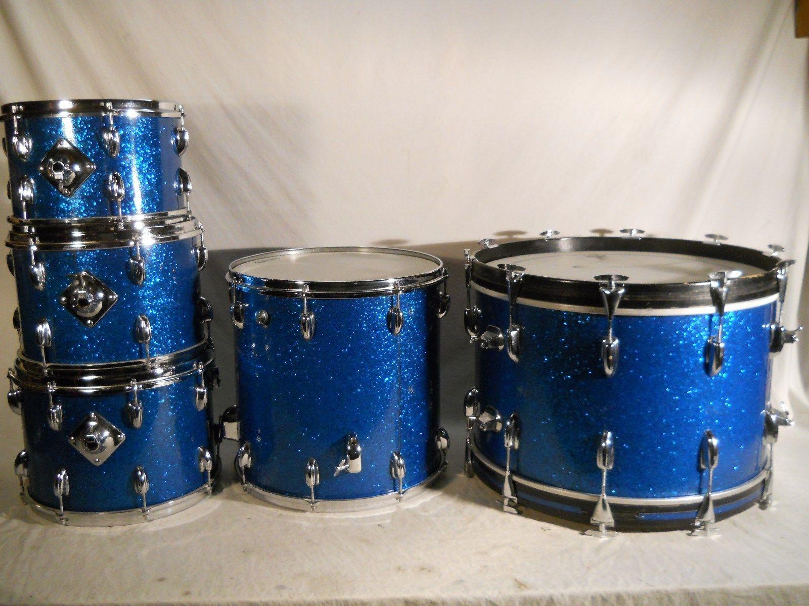 Slingerland Drums For Sale : slingerland usa vintage 1970 blue sparkle drum percussion for sale plektrum ~ Russianpoet.info Haus und Dekorationen
