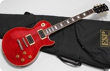 Edwards Les Paul Standard E LP 90SD 2003 See Through Red Finish