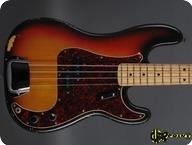Fender Precision 1972 3 tone Sunburst