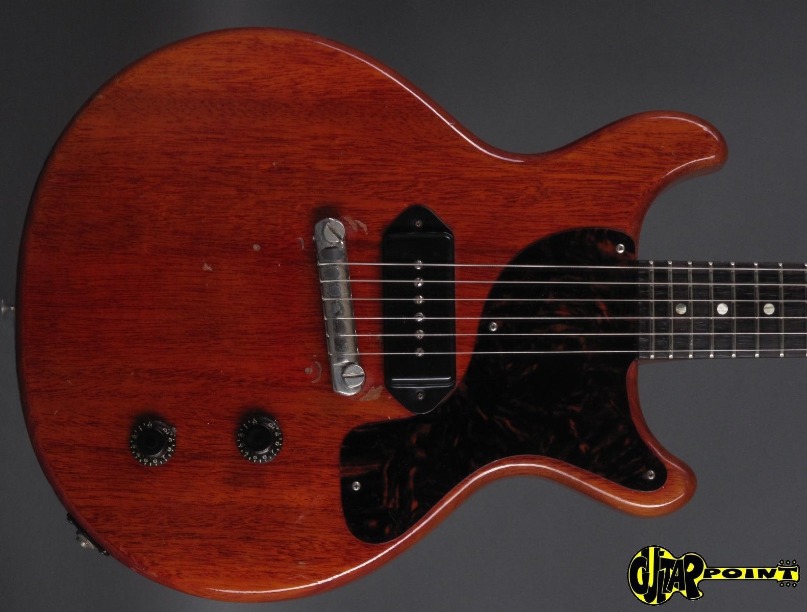 gibson les paul junior dc 1959 cherry guitar for sale. Black Bedroom Furniture Sets. Home Design Ideas
