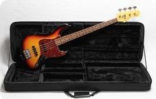 Seymour Duncan Jazz Bass 2004 Three Tone Sunburst