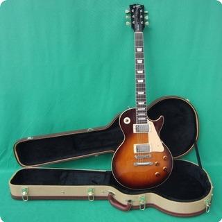 orville by gibson les paul standard 1989 tobacco sunburst guitar for sale wutzdog guitars. Black Bedroom Furniture Sets. Home Design Ideas