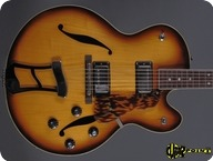 Hagstrom Jimmy 1972 Sunburst
