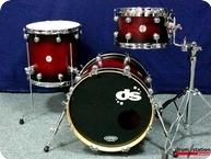DS Drums Rebel Series Standard Hybrid Maple 2016 Burgundy Burst Satin