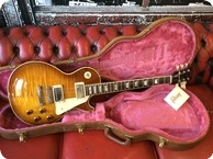 Gibson 59 Pre Historic Les Paul 1985 Sunburst