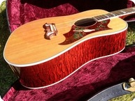 Gibson Custom Shop Dove 2001 Natural Top Cherry Back