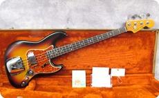 Fender Fullerton 62 Reissue Jazz 1982 Sunburst