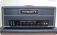 Hi Watt DR103 1970 Black Tolex