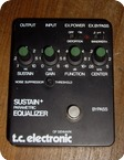 T.C. Electronic Sustain Parametric Equalizer 1980 Black Metal Box