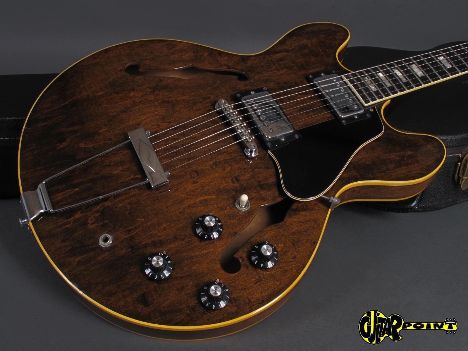 gibson es 335 td 1972 walnut guitar for sale guitarpoint. Black Bedroom Furniture Sets. Home Design Ideas