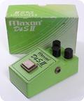 Maxon DS II OD 802 Overdrive Distortion 1981 Green