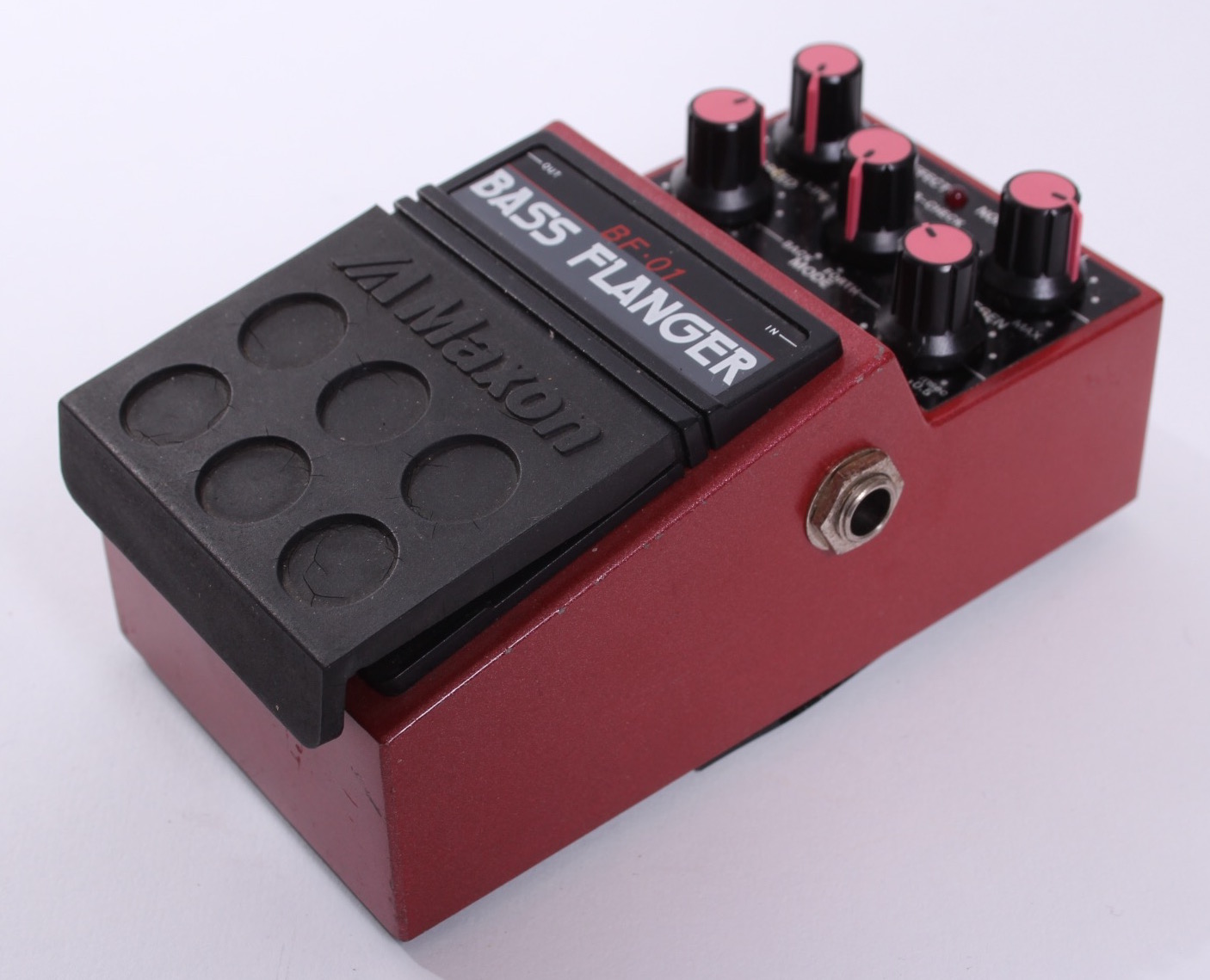 maxon bass flanger bf 01 1985 effect pedal for sale yeahman 39 s guitars. Black Bedroom Furniture Sets. Home Design Ideas