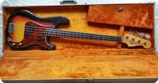 Fender Pre CBS Precision Bass 1964 Sunburst