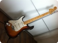 Fender Stratocaster Left handed LH 1982 Sunburst Maple Neck