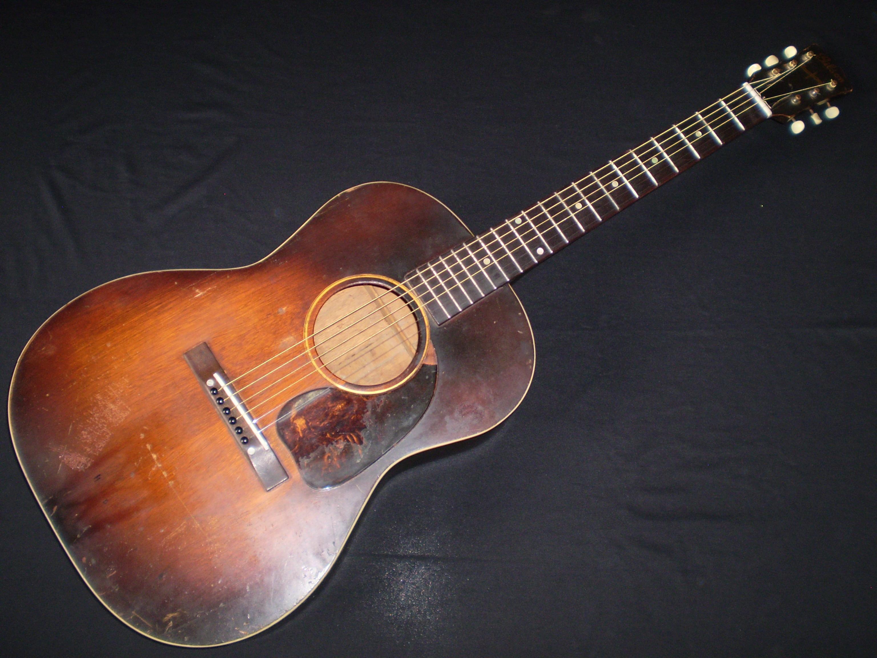 gibson lg2 1943 sunburst guitar for sale glenns guitars. Black Bedroom Furniture Sets. Home Design Ideas