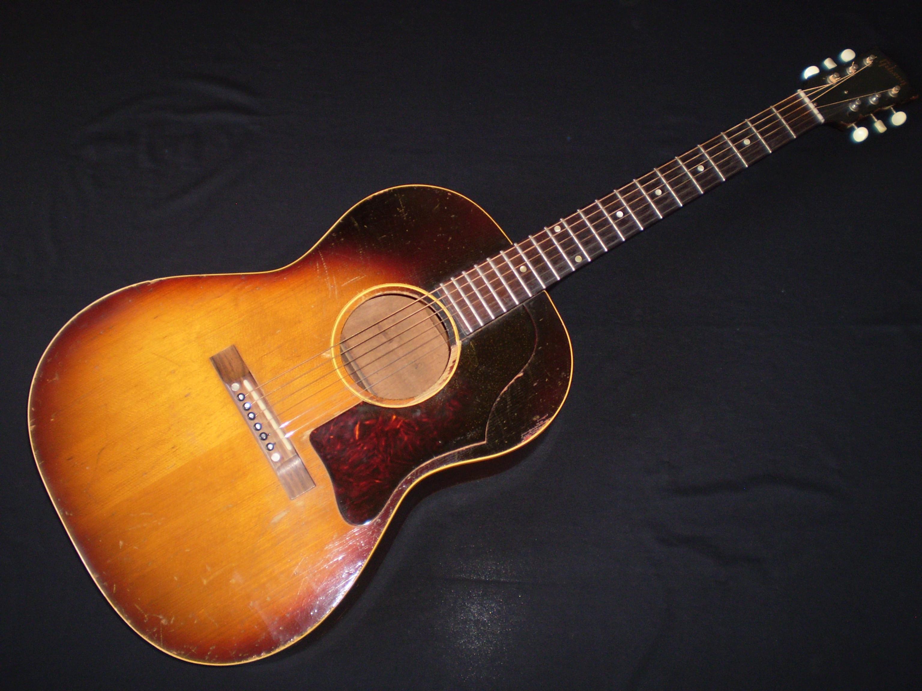 gibson lg1 1959 sunburst guitar for sale glenns guitars. Black Bedroom Furniture Sets. Home Design Ideas