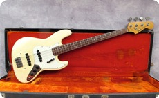 Fender Jazz 1965 Olympic White Refinish